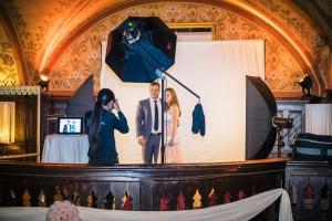 Professionelles On-Location Studio und Eventdokumentation mit Video und Fotoinhalten für den Abendball in Bern.